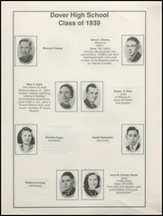 Page 10, 1939 Edition, Dover High School - Profile Yearbook (Dover, NH) online yearbook collection