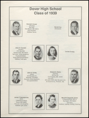 Page 11, 1939 Edition, Dover High School - Profile Yearbook (Dover, NH) online yearbook collection