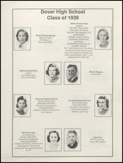 Page 13, 1939 Edition, Dover High School - Profile Yearbook (Dover, NH) online yearbook collection