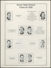 Page 15, 1939 Edition, Dover High School - Profile Yearbook (Dover, NH) online yearbook collection