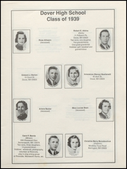 Page 7, 1939 Edition, Dover High School - Profile Yearbook (Dover, NH) online yearbook collection
