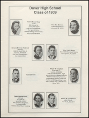 Page 9, 1939 Edition, Dover High School - Profile Yearbook (Dover, NH) online yearbook collection