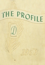 Page 1, 1953 Edition, Dover High School - Profile Yearbook (Dover, NH) online yearbook collection