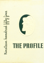 1955 Edition, Dover High School - Profile Yearbook (Dover, NH)