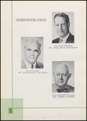 Page 7, 1956 Edition, Dover High School - Profile Yearbook (Dover, NH) online yearbook collection