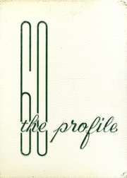 1960 Edition, Dover High School - Profile Yearbook (Dover, NH)