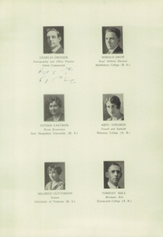 Page 11, 1930 Edition, Keene High School - Salmagundi Yearbook (Keene, NH) online yearbook collection