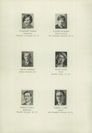 Page 12, 1930 Edition, Keene High School - Salmagundi Yearbook (Keene, NH) online yearbook collection