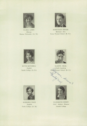 Page 13, 1930 Edition, Keene High School - Salmagundi Yearbook (Keene, NH) online yearbook collection