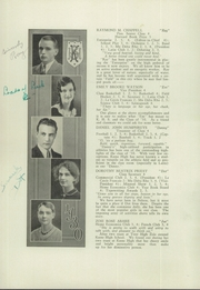 Page 16, 1930 Edition, Keene High School - Salmagundi Yearbook (Keene, NH) online yearbook collection