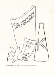 Page 7, 1946 Edition, Keene High School - Salmagundi Yearbook (Keene, NH) online yearbook collection