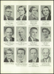 Page 14, 1956 Edition, Keene High School - Salmagundi Yearbook (Keene, NH) online yearbook collection
