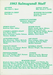Page 4, 1983 Edition, Keene High School - Salmagundi Yearbook (Keene, NH) online yearbook collection