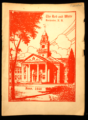 Page 1, 1949 Edition, Spaulding High School - Red and White Yearbook (Rochester, NH) online yearbook collection