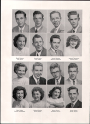 Page 16, 1949 Edition, Spaulding High School - Red and White Yearbook (Rochester, NH) online yearbook collection