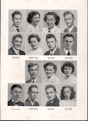Page 17, 1949 Edition, Spaulding High School - Red and White Yearbook (Rochester, NH) online yearbook collection