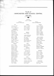Page 5, 1935 Edition, Central High School - Aglaia Yearbook (Manchester, NH) online yearbook collection