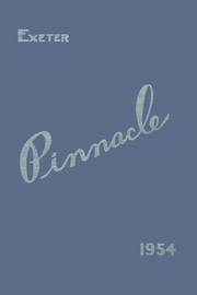 Page 1, 1954 Edition, Exeter High School - Pinnacle High School (Exeter, NH) online yearbook collection