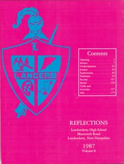 Page 5, 1987 Edition, Londonderry High School - Reflections Yearbook (Londonderry, NH) online yearbook collection