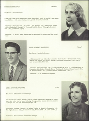 Page 17, 1959 Edition, Milford High School - Spartan Yearbook (Milford, NH) online yearbook collection
