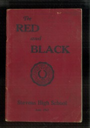 1943 Edition, Stevens High School - Red and Black Yearbook (Claremont, NH)