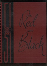 1951 Edition, Stevens High School - Red and Black Yearbook (Claremont, NH)