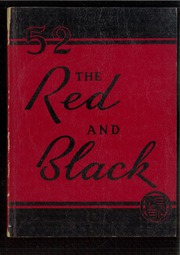 1952 Edition, Stevens High School - Red and Black Yearbook (Claremont, NH)