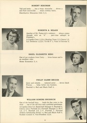 Page 15, 1952 Edition, Stevens High School - Red and Black Yearbook (Claremont, NH) online yearbook collection