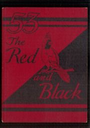 1953 Edition, Stevens High School - Red and Black Yearbook (Claremont, NH)