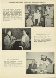 Page 11, 1953 Edition, Stevens High School - Red and Black Yearbook (Claremont, NH) online yearbook collection