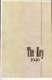 1946 Edition, Franklin High School - Key Yearbook (Franklin, NH)