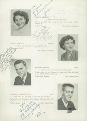 Page 20, 1951 Edition, Franklin High School - Key Yearbook (Franklin, NH) online yearbook collection