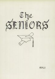 Page 9, 1952 Edition, Franklin High School - Key Yearbook (Franklin, NH) online yearbook collection