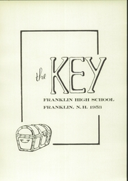 Page 7, 1953 Edition, Franklin High School - Key Yearbook (Franklin, NH) online yearbook collection