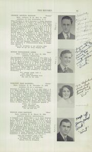 Page 13, 1942 Edition, Littleton High School - Record Yearbook (Littleton, NH) online yearbook collection