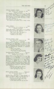 Page 15, 1942 Edition, Littleton High School - Record Yearbook (Littleton, NH) online yearbook collection