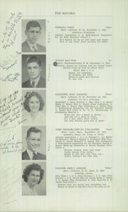 Page 16, 1942 Edition, Littleton High School - Record Yearbook (Littleton, NH) online yearbook collection