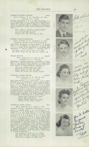 Page 17, 1942 Edition, Littleton High School - Record Yearbook (Littleton, NH) online yearbook collection
