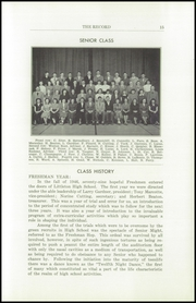 Page 17, 1950 Edition, Littleton High School - Record Yearbook (Littleton, NH) online yearbook collection