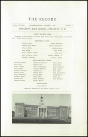Page 3, 1950 Edition, Littleton High School - Record Yearbook (Littleton, NH) online yearbook collection
