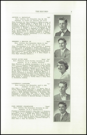 Page 5, 1950 Edition, Littleton High School - Record Yearbook (Littleton, NH) online yearbook collection