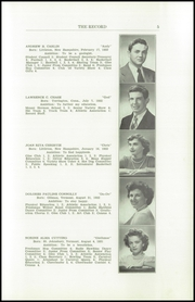 Page 7, 1950 Edition, Littleton High School - Record Yearbook (Littleton, NH) online yearbook collection