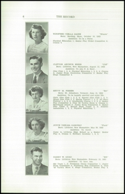 Page 8, 1950 Edition, Littleton High School - Record Yearbook (Littleton, NH) online yearbook collection