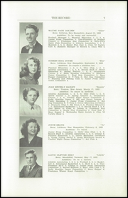 Page 9, 1950 Edition, Littleton High School - Record Yearbook (Littleton, NH) online yearbook collection