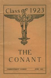 Page 1, 1923 Edition, Conant High School - Yearbook (Jaffrey, NH) online yearbook collection