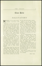 Page 13, 1923 Edition, Conant High School - Yearbook (Jaffrey, NH) online yearbook collection