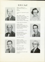 Page 10, 1963 Edition, Hinsdale High School - Pacer Yearbook (Hinsdale, NH) online yearbook collection