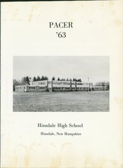 Page 5, 1963 Edition, Hinsdale High School - Pacer Yearbook (Hinsdale, NH) online yearbook collection