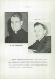 Page 8, 1951 Edition, Notre Dame High School - Yearbook (Berlin, NH) online yearbook collection