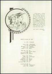 Page 14, 1952 Edition, Notre Dame High School - Yearbook (Berlin, NH) online yearbook collection